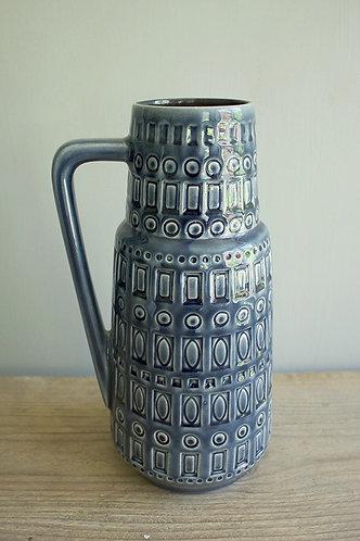 "Vase ""Inka"", blau"