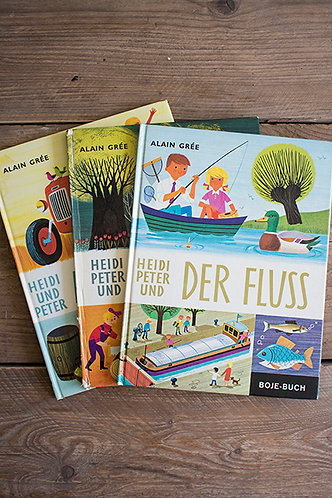 Wissensbücher Heidi und Peter