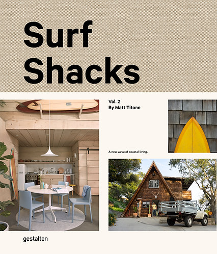 SURF SHACKS Vol.2, gestalten