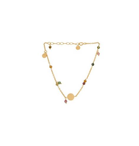 Armband AFTERGLOW, gold oder silber mit Turmalinen