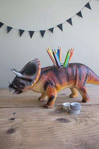 Stiftebecher/Vase Dinosaurier