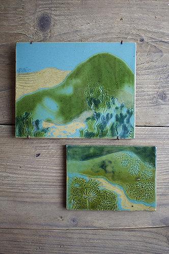 Kachel-Set Seegrün