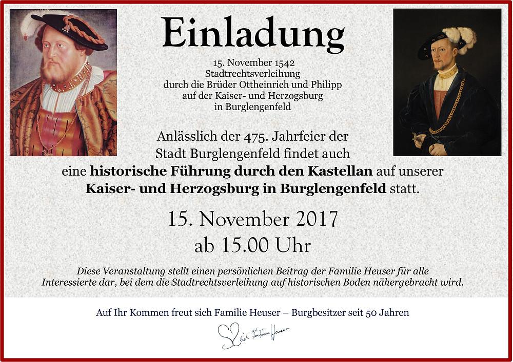 Sozialwerk Heuser: Die Burg zu Lengenfeld