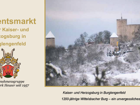 Burg Adventsmarkt 2018