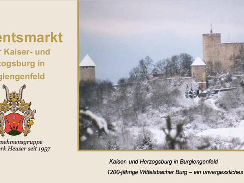 Adventsmarkt auf der Burg