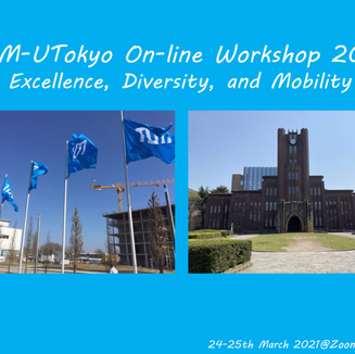 TUM-UTokyo On-line Workshop 2021で発表しました