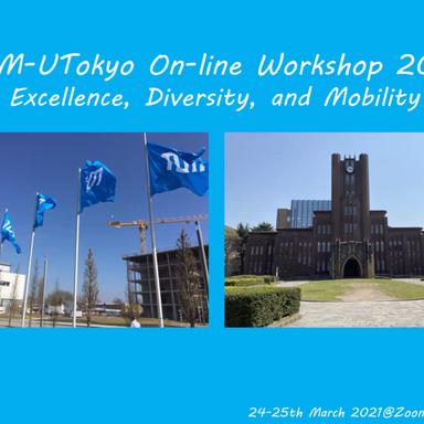 TUM-UTokyo On-line Workshop 2021で発表しました