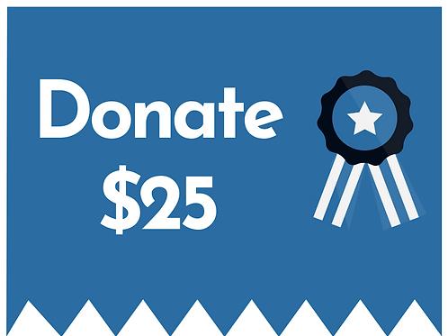 $25 Donation to Bolton PTA