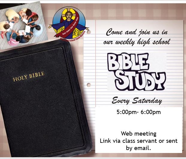 Bible study web meeting