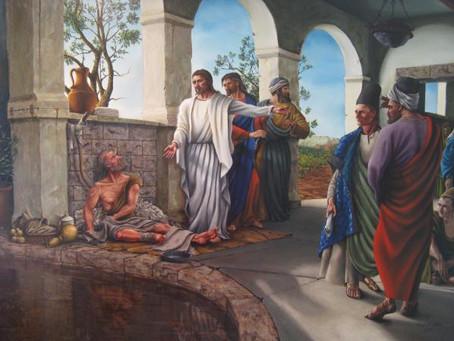 Holy Lent Week 5 – Target for the Journey, Faith