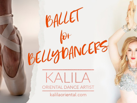 Workshop ballett kõhutantsijatele︱Ballet for Bellydancers