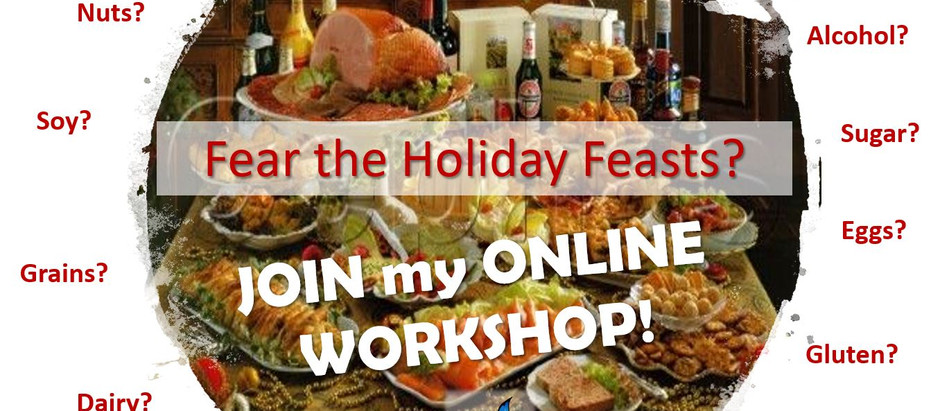 Fear the Holiday Feasts?