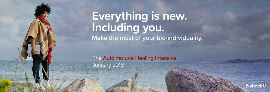The online Autoimmune Healing Intensive Program is launching on 1st January 2018! Join us!