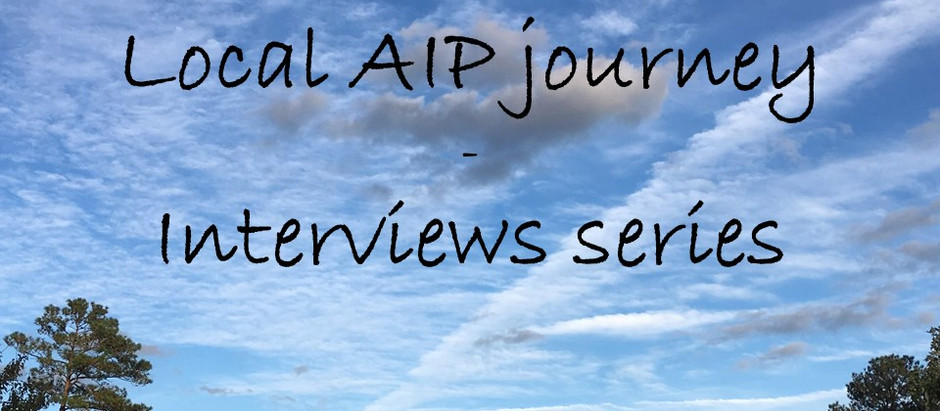 #3 Local AIP journey - interviews series:  Mohita