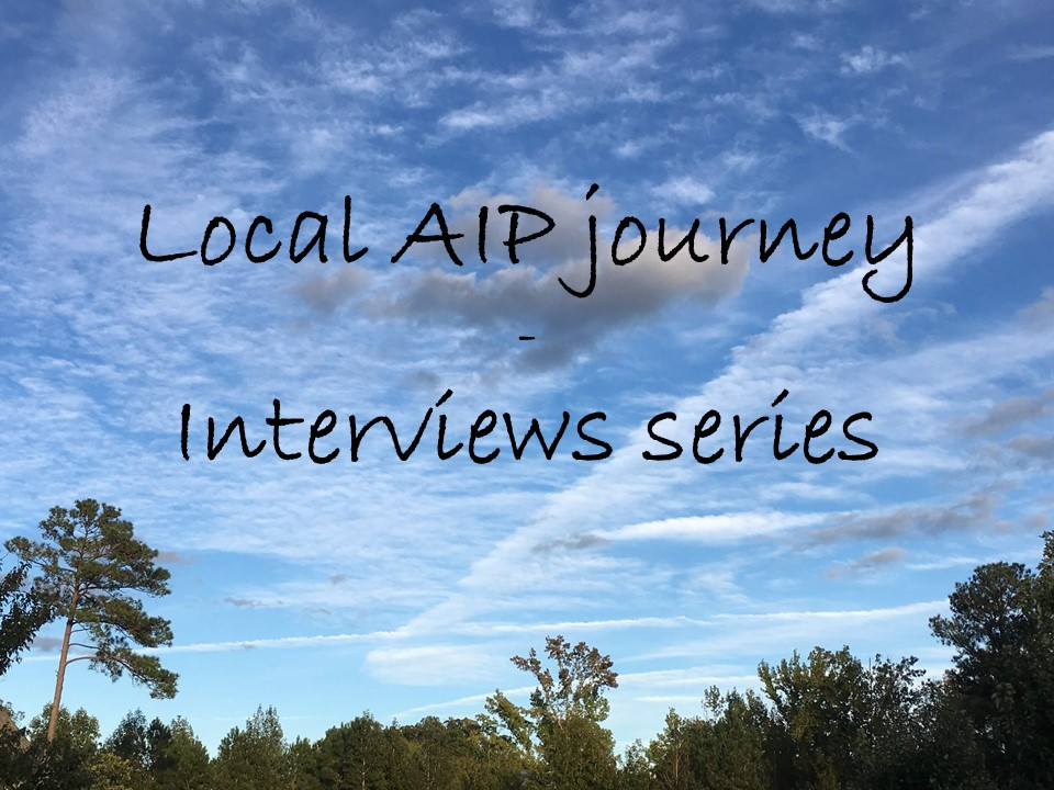 Local AIP journey - Interviews series