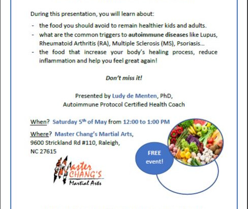 FREE Health and Wellness seminar!