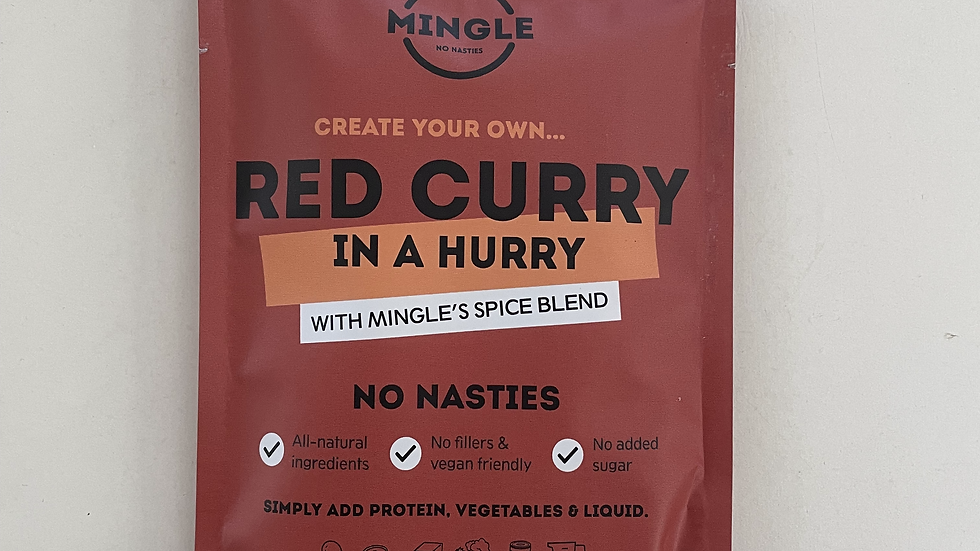 Natural Seasoning Blend Red Curry - Mingle 30g