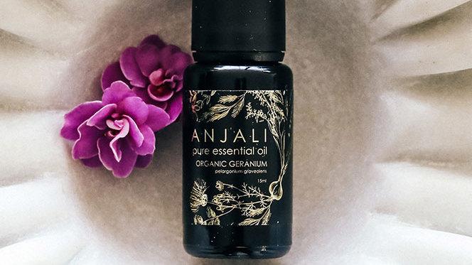 Anjali Geranium - Organic essential oil - 15ml