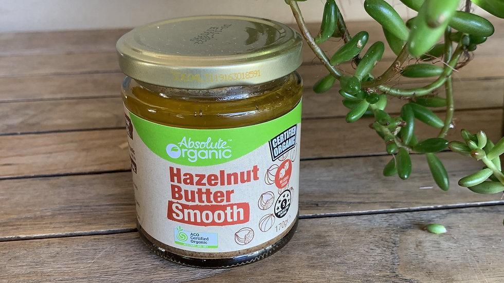 Hazelnut butter smooth - Certified Organic - 170g