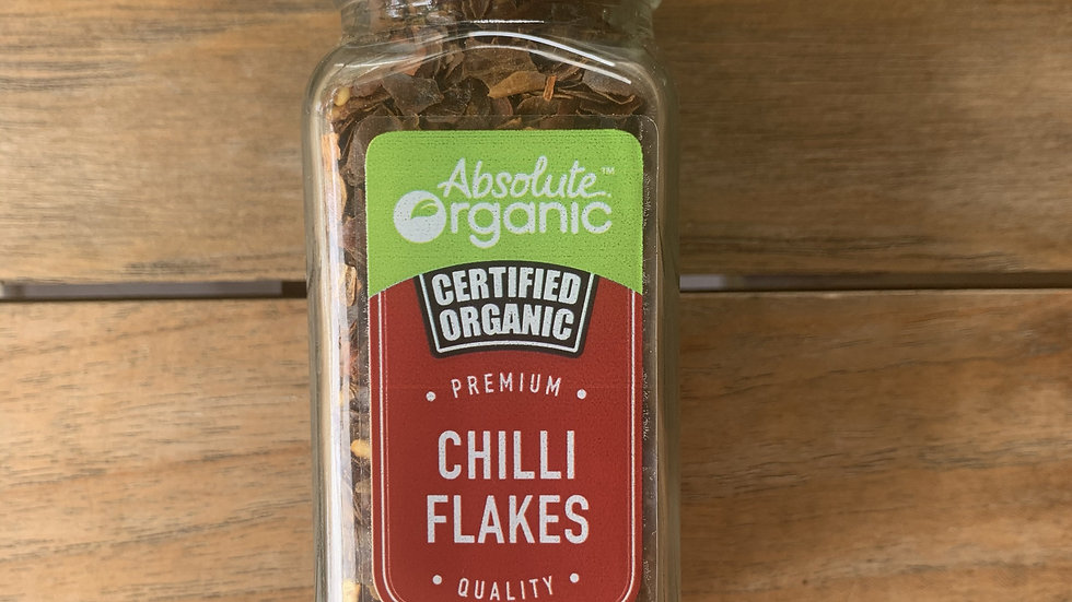 Chilli Flakes - Organic Spices - 40g