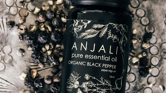 Black Pepper Anjali essential oils- Organic - 15ml