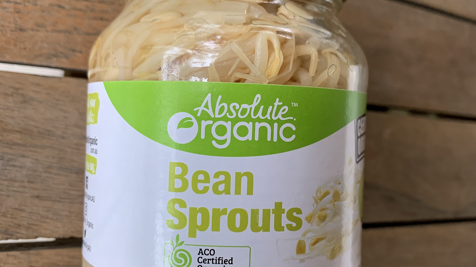 Bean Sprouts 330g Certified Organic