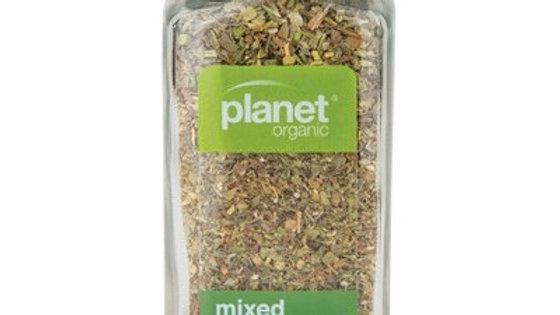 Certified Organic Mixed Herbs in glass jar - 15gm