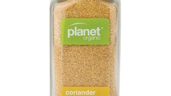 Coriander Seed Ground  - Planet Organic Herbs - 40g