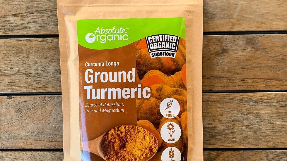 Turmeric  Ground - 150g Absolute Organic ACO