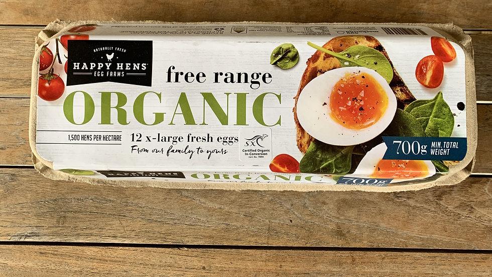 Eggs - Free range Organic  -700gm