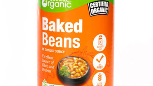 Beans Baked (Tin) 400g Certified Organic ACO