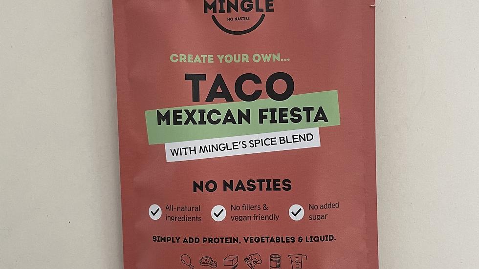 Natural Seasoning Blend Taco Mexican Fiesta - Mingle 30gm