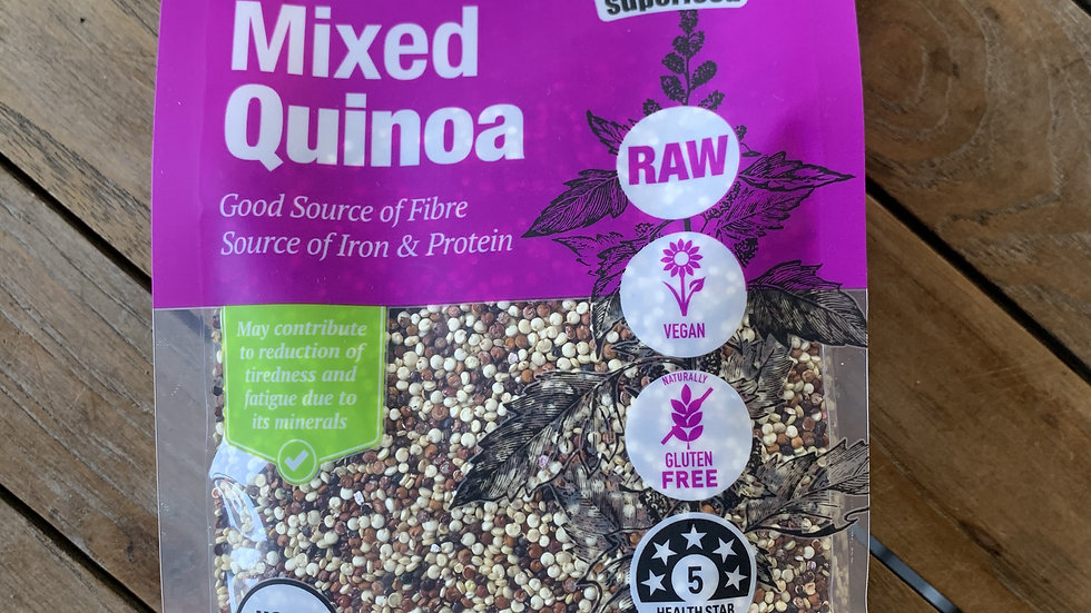 Quinoa Mixed 400g Absolute Organic ACO