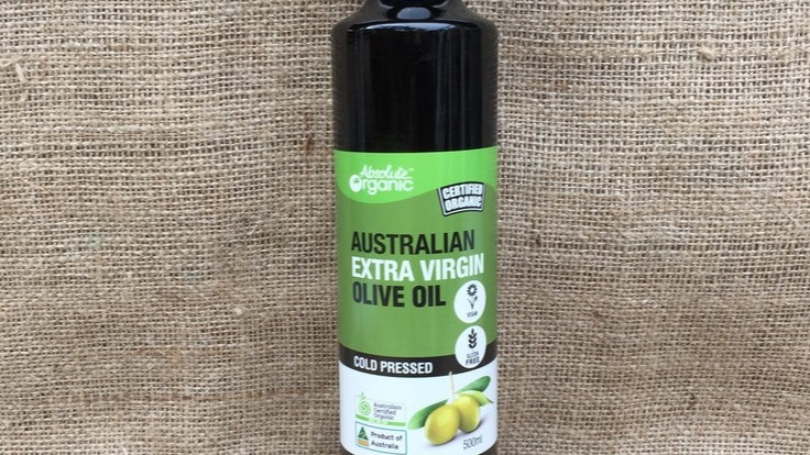 Australian Extra Virgin Olive Oil 500ml ACO Absolute Organic