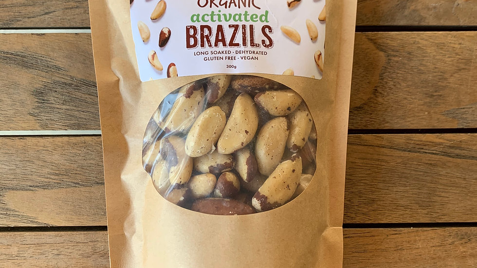 Brazil Nuts Organic Activated 300g
