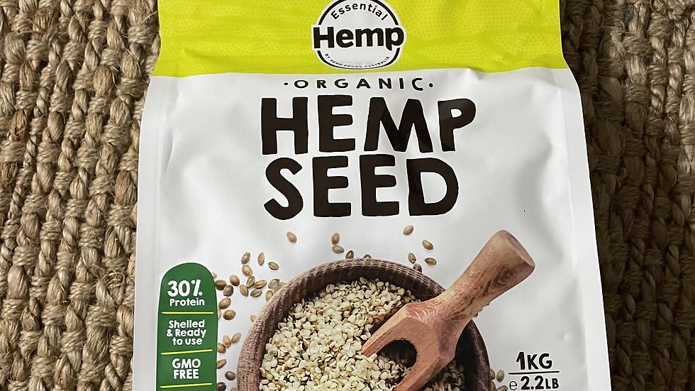 Organic Hulled Hemp Seeds 1KG