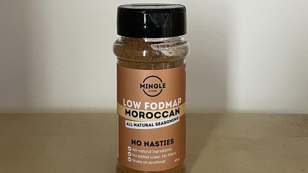 Natural Seasoning Blend Moroccan Low FODMAP - Mingle45g