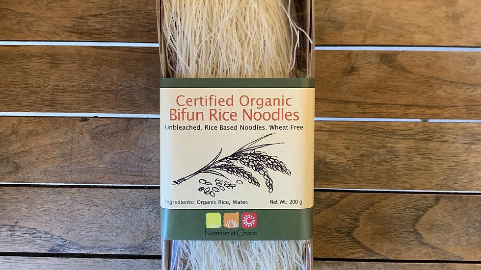 Rice NoodlesOrganic Bifun NUTRITIONIST CHOICE  200g