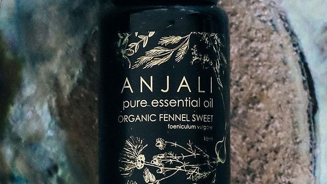 Fennel Sweet Anjali essential oils - Organic 15ml