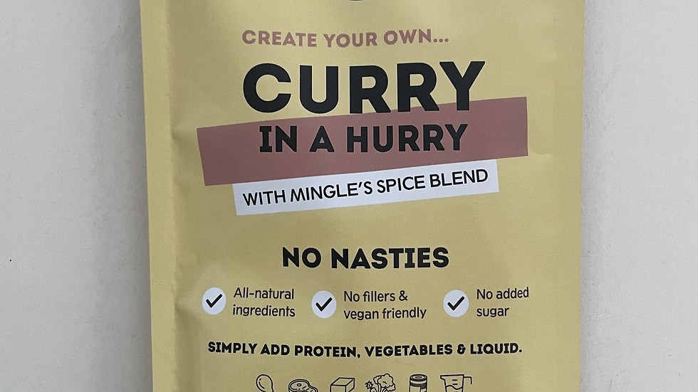 Natural Seasoning Blend Curry In A Hurry - Mingle 30g