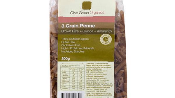 GF Penne  Tri Grain - Quinoa, Brown Rice & Amaranth - 300gm