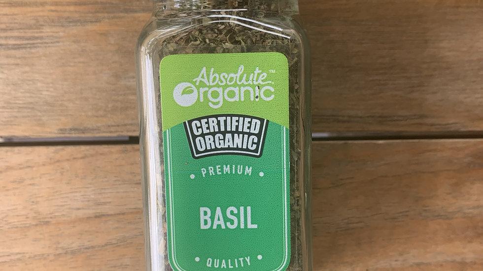 Basil Certified Organic herbs - 20g