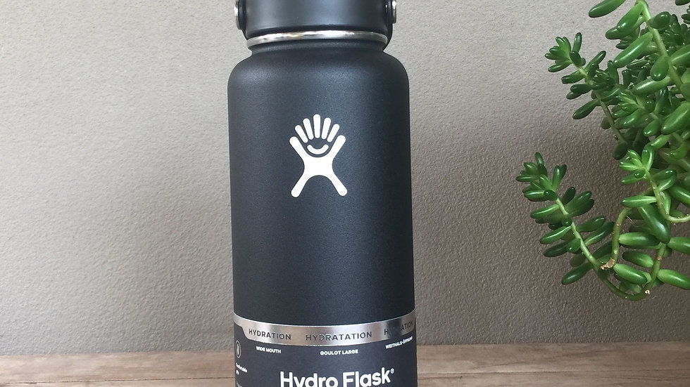 HYDRO FLASK Wide Mouth Bottle - Flex Cap Double Insulated - 946ml -3 colours