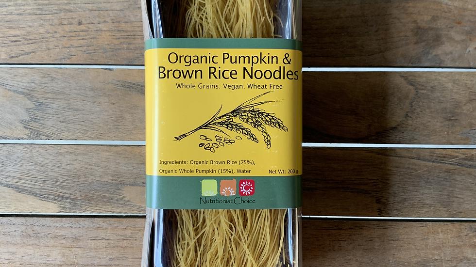 Rice Noodles Pumpkin & Brown 200g NUTRITIONIST CHOICE