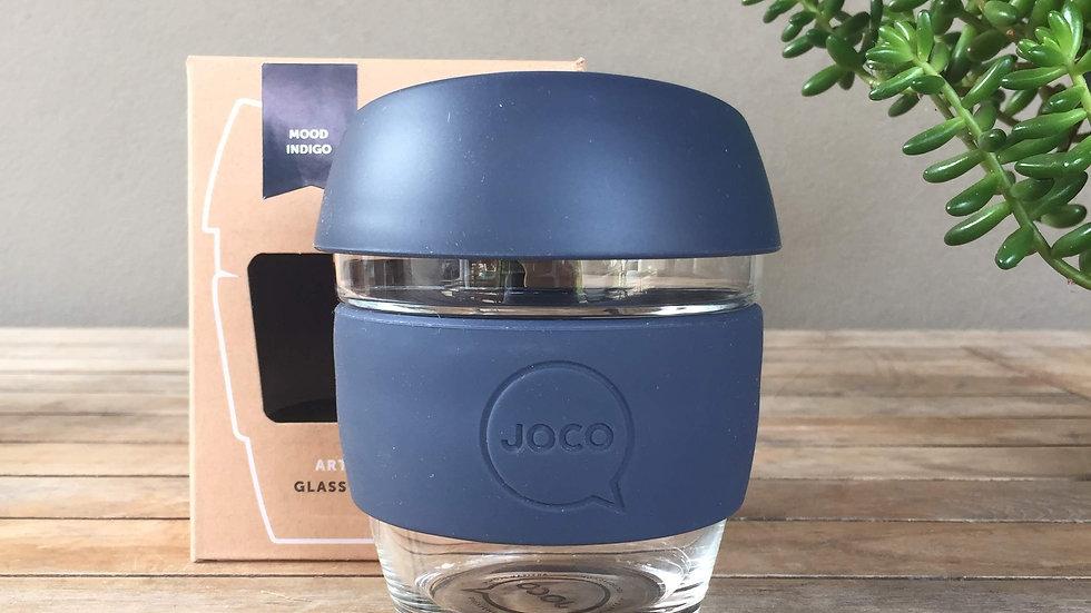 JOCO Reusable Glass Cup Small - 5 colours - 236ml