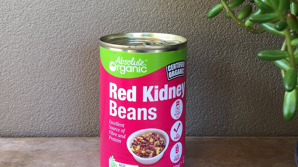 Red Kidney Beans - Certified Organic - 400gm