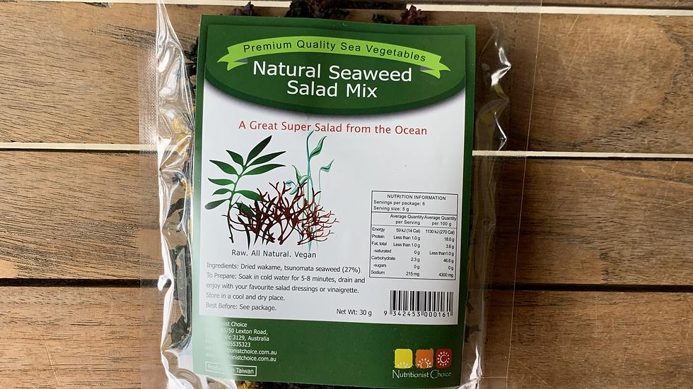 Seaweed Salad Mix 30g NUTRITIONIST CHOICE