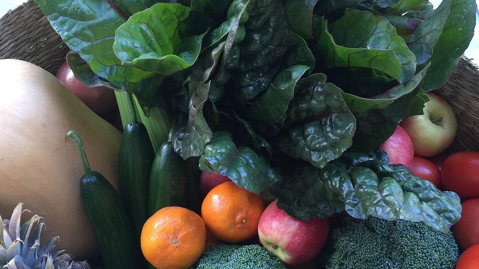 Mixed Seasonal Fruit & Vegetable Box Certified - Organic