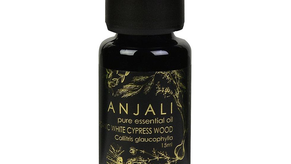 White Cypress Wood Anjali essential oils - Organic - 15ml