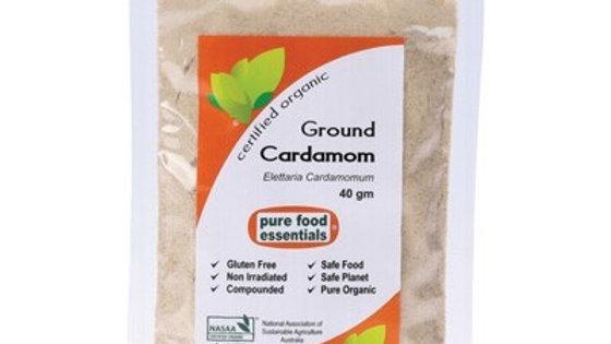 Cardamom Spice Powder 40g - PURE FOOD ESSENTIALS Spices